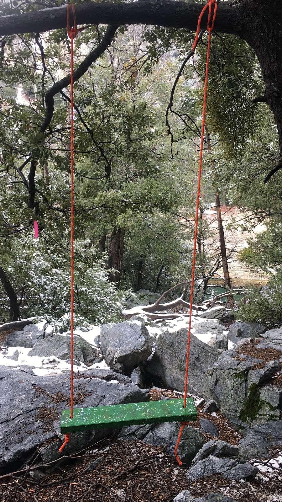 Secret Swings Crystal Lake Azusa - park    Photo 1 of 2   Address: Azusa, CA 91702, USA