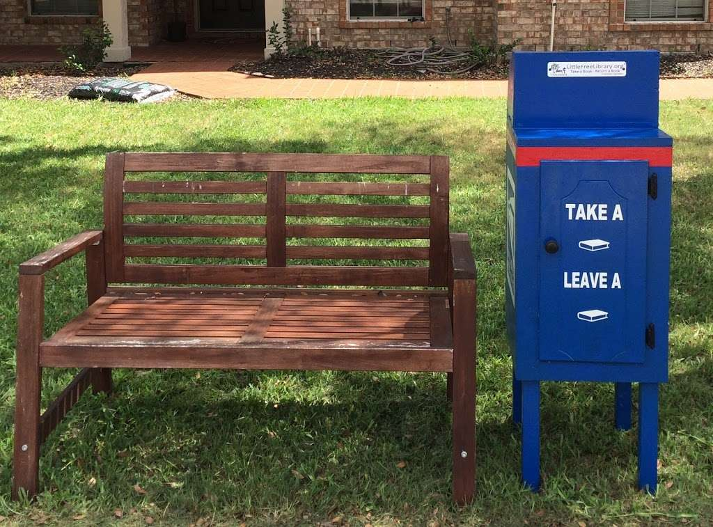 Little Free Library #50479 - library  | Photo 1 of 1 | Address: 206 Abel Dr, Glenn Heights, TX 75154, USA