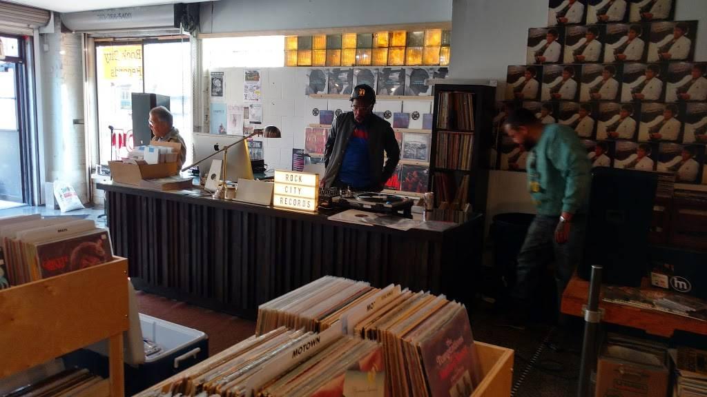 Rock City Records - electronics store  | Photo 2 of 10 | Address: 14401 E Jefferson Ave #2933, Detroit, MI 48215, USA | Phone: (313) 499-1540