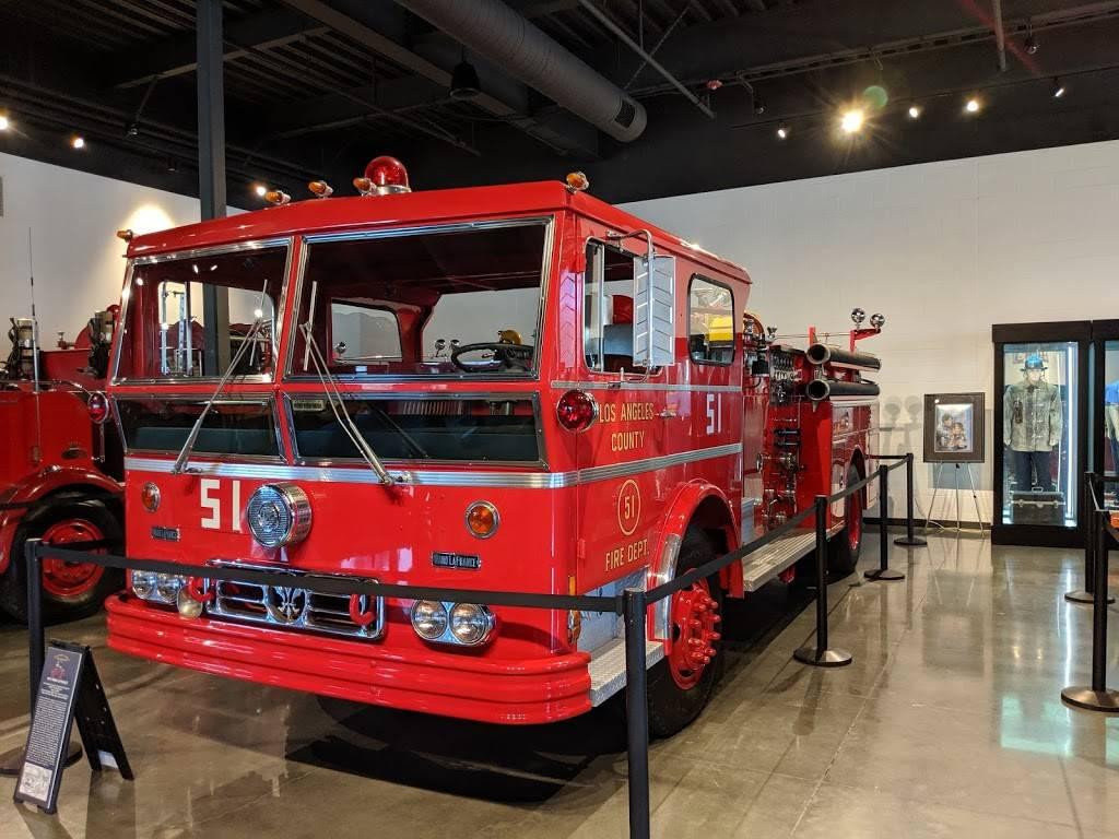 The Los Angeles County Fire Museum - museum  | Photo 7 of 9 | Address: 16400 Bellflower Blvd, Bellflower, CA 90706, USA | Phone: (562) 925-0234
