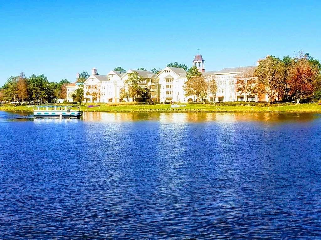 Disneys Saratoga Springs Resort & Spa - Congress Park - bus station  | Photo 2 of 6 | Address: Lake Buena Vista, FL 32830, USA