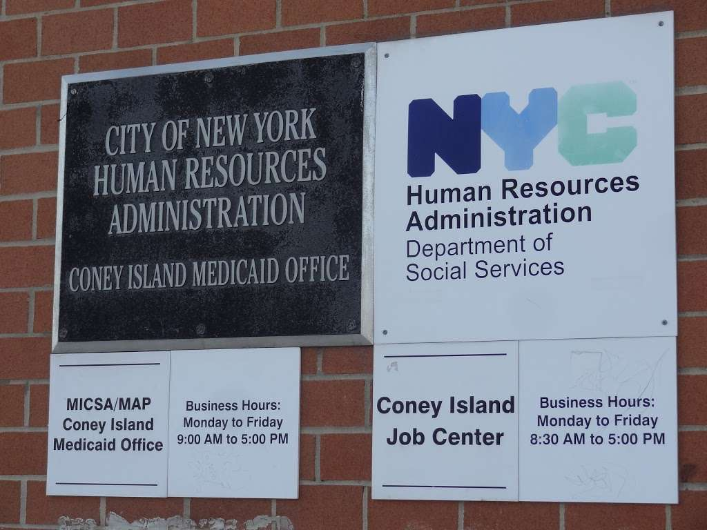 Brooklyn Medicaid Office - local government office    Photo 4 of 4   Address: 3050 W 21st St, Brooklyn, NY 11224, USA   Phone: (929) 221-3790