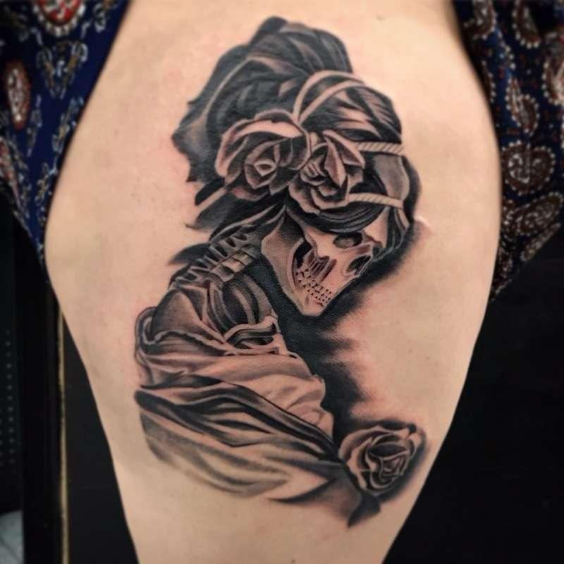 Golden Needle Tattoo - store  | Photo 9 of 10 | Address: 3814 Irving Mall, Irving, TX 75062, USA | Phone: (972) 870-0889