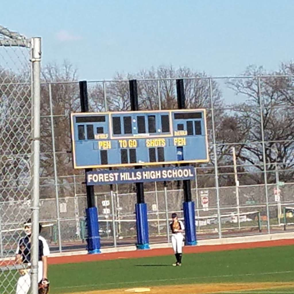 Forest Hills High School - school  | Photo 1 of 10 | Address: 67-01 110th St, Forest Hills, NY 11375, USA | Phone: (718) 268-3137