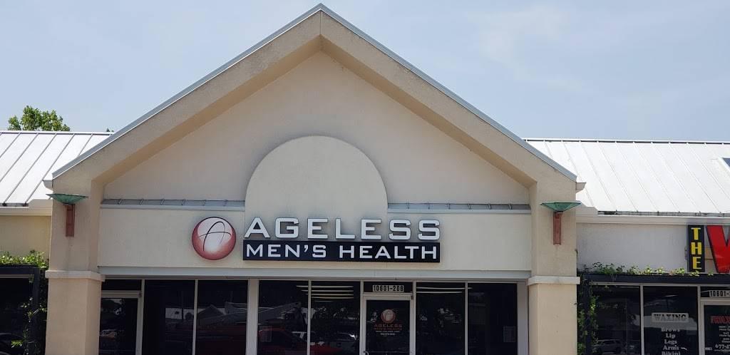 Ageless Mens Health - hospital    Photo 4 of 5   Address: 10601 San Jose Blvd #208, Jacksonville, FL 32257, USA   Phone: (904) 379-5052