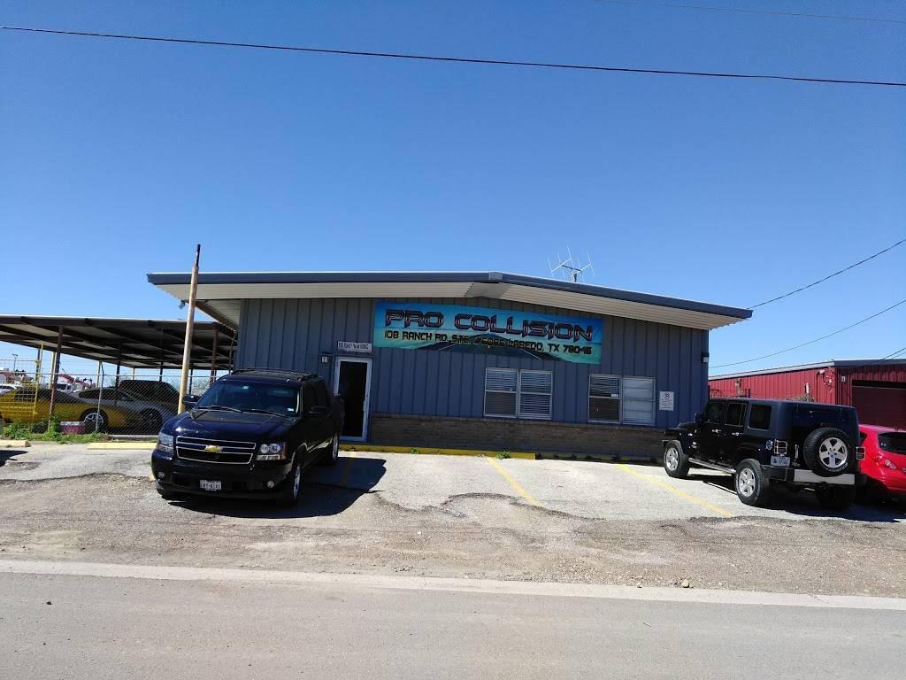 Laredo Pro Collision - car repair    Photo 1 of 1   Address: 108 Ranch Rd, Laredo, TX 78046, USA   Phone: (956) 568-1075