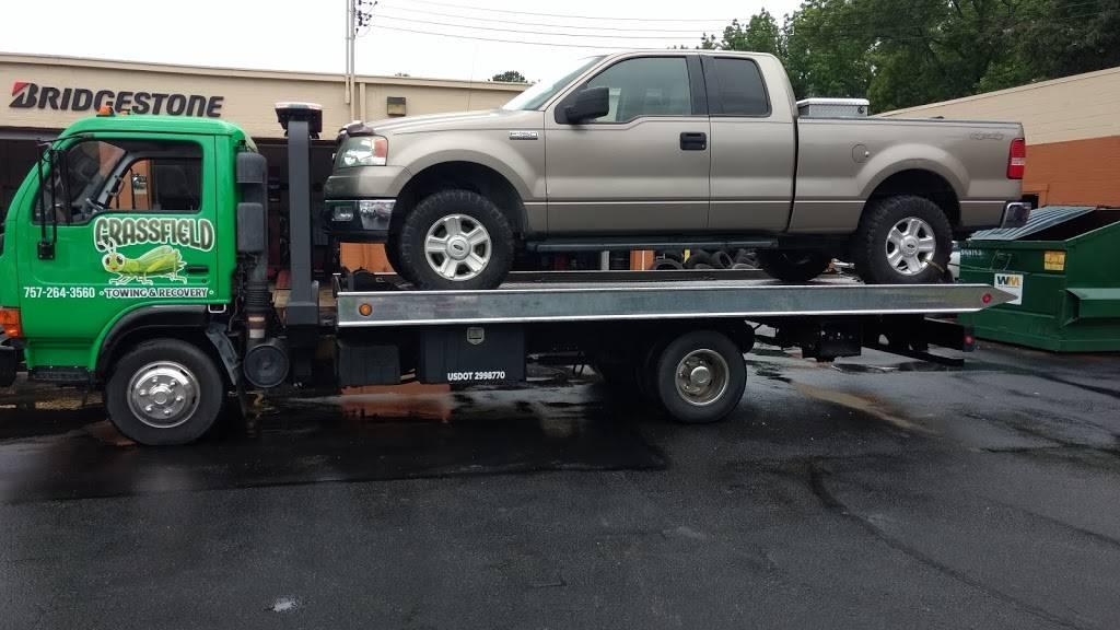 Grassfield Towing & Recovery - car repair  | Photo 3 of 10 | Address: 122 Sampson Creek Rd, Chesapeake, VA 23322, USA | Phone: (757) 264-3560