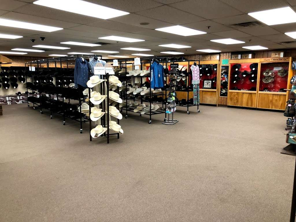 Stetson Hat Co Outlet Store - clothing store    Photo 1 of 10   Address: 3601 S Leonard Rd, St Joseph, MO 64503, USA   Phone: (816) 233-3286