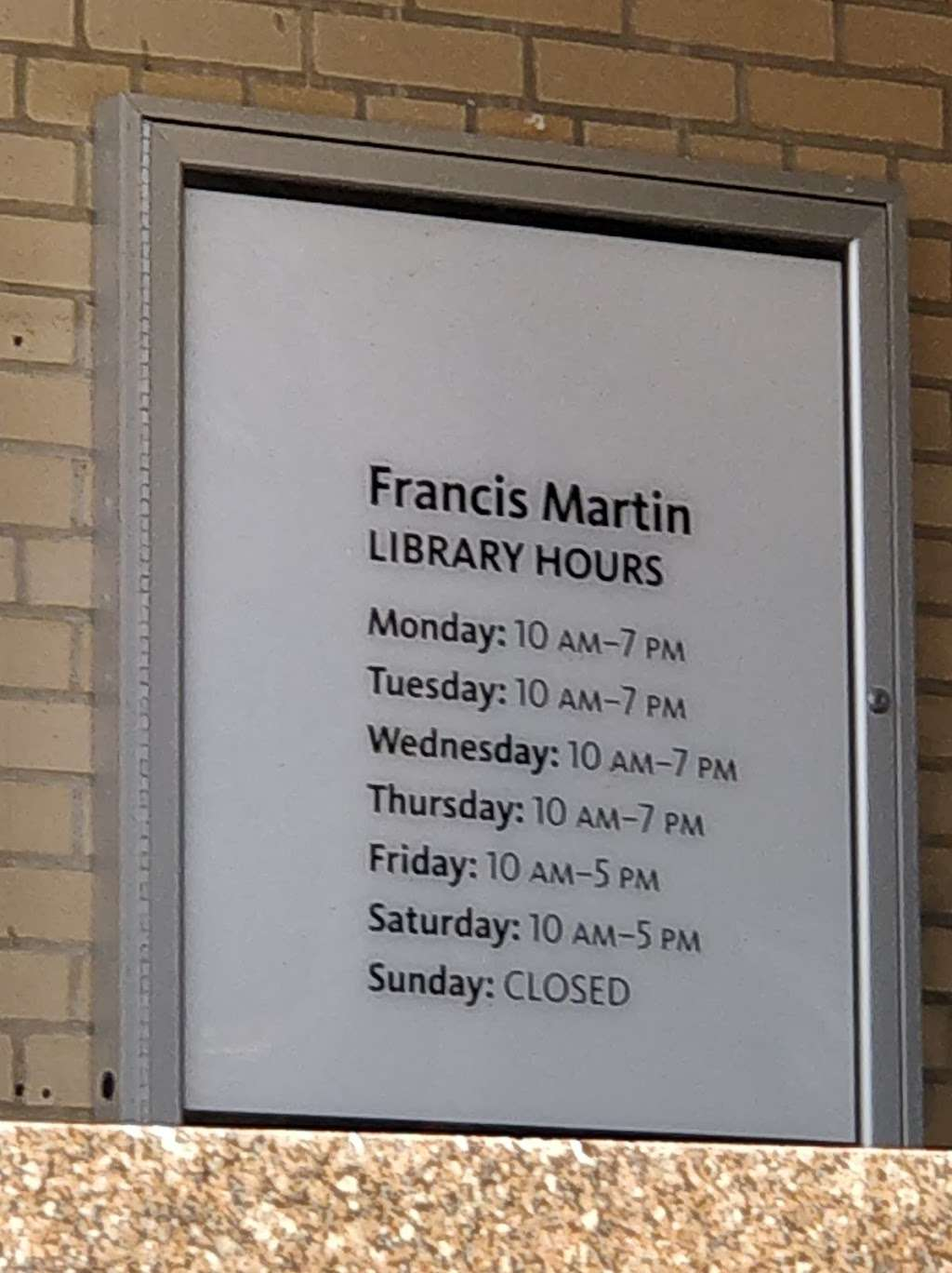 Francis Martin Library - library  | Photo 5 of 5 | Address: 2150 University Ave, Bronx, NY 10453, USA | Phone: (718) 295-5287