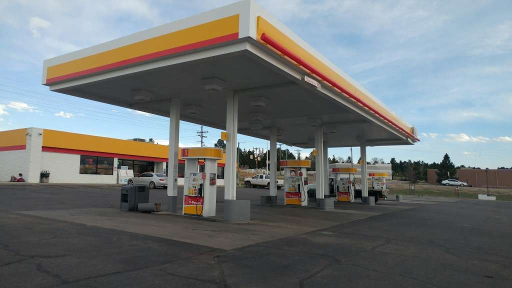 Shell - gas station    Photo 1 of 9   Address: 34013 Co Rd 13, Elizabeth, CO 80107, USA   Phone: (303) 646-4778