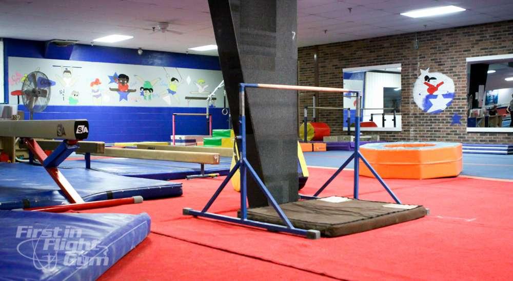 First In Flight Gym - gym    Photo 1 of 10   Address: 1000 S Myrtle School Rd, Gastonia, NC 28052, USA   Phone: (704) 866-0040