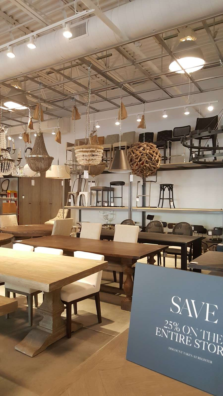 Restoration Hardware Outlet - furniture store  | Photo 6 of 10 | Address: 18 West Lightcap Rd Suite 501, Sanatoga, PA 19464, USA | Phone: (610) 970-1518