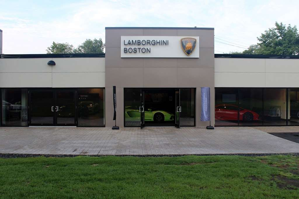 Lamborghini Boston - car dealer  | Photo 4 of 10 | Address: 531 Boston Post Rd Rte. 20, Wayland, MA 01778, USA | Phone: (508) 401-2800