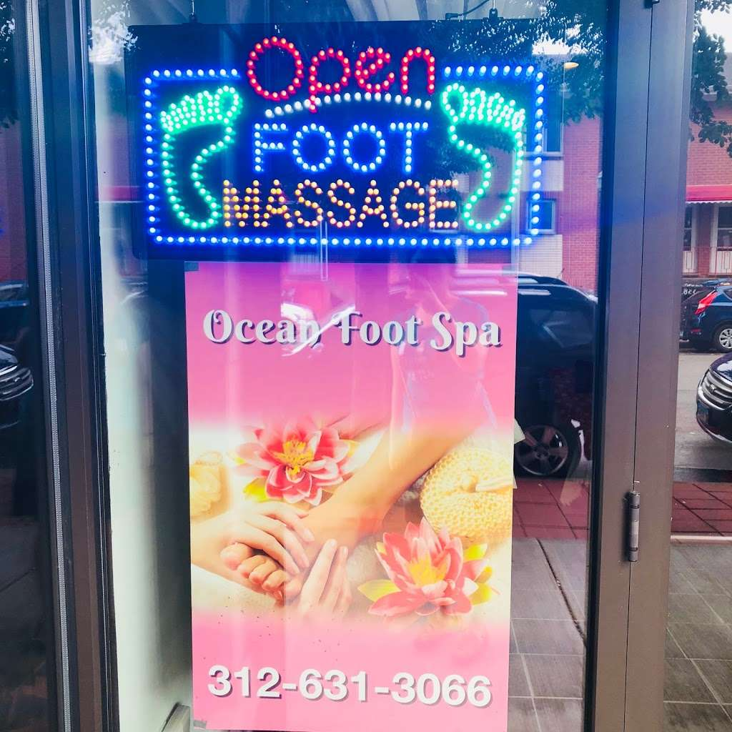 Ocean Foot Massage - health  | Photo 1 of 2 | Address: 450 W 23rd Pl, Chicago, IL 60616, USA | Phone: (312) 631-3066