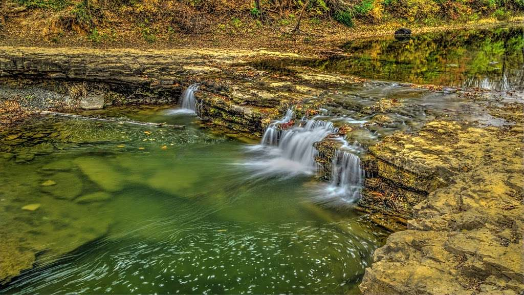 Wilkey Waterfall - park  | Photo 2 of 5 | Address: Lawrence, KS 66047, USA