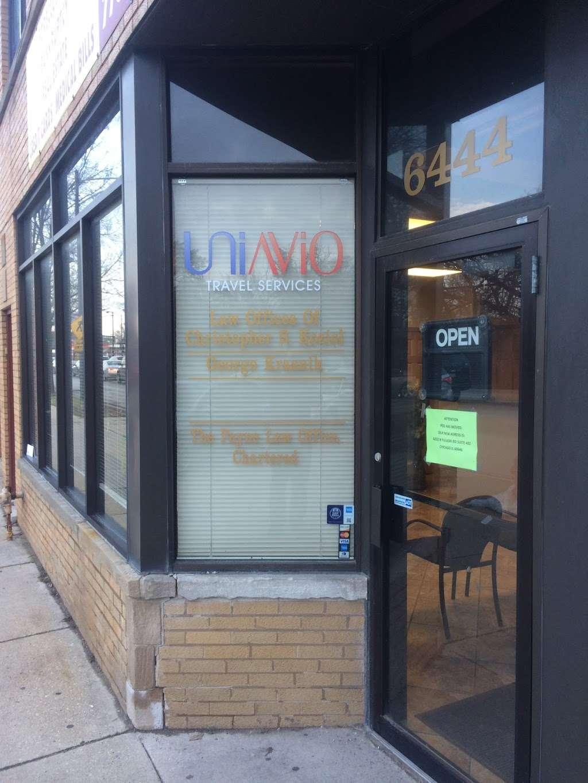 UniAvio - travel agency  | Photo 2 of 8 | Address: 6444 N Milwaukee Ave, Chicago, IL 60631, USA | Phone: (312) 337-5121