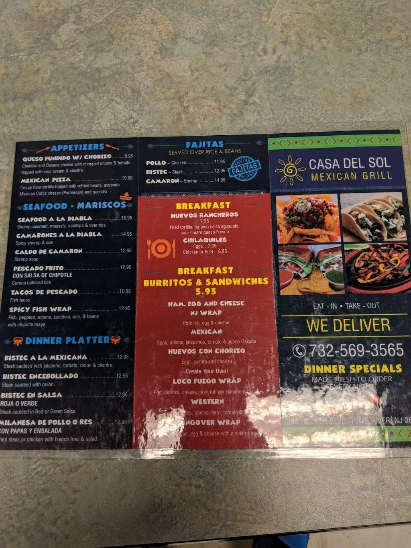 Casa del sol - restaurant  | Photo 5 of 6 | Address: 953 Fischer Blvd, Toms River, NJ 08753, USA | Phone: (732) 569-3565