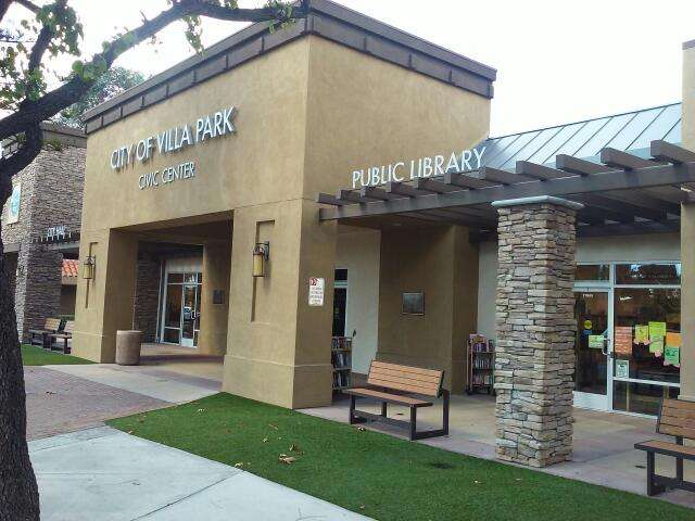 Villa Park Branch Library - library    Photo 1 of 1   Address: 17865 Santiago Blvd, Villa Park, CA 92861, USA   Phone: (714) 998-0861