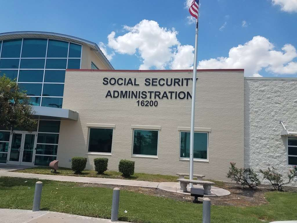 Social Security Administration - local government office    Photo 6 of 10   Address: 16200 Dillard Dr, Jersey Village, TX 77040, USA   Phone: (800) 772-1213
