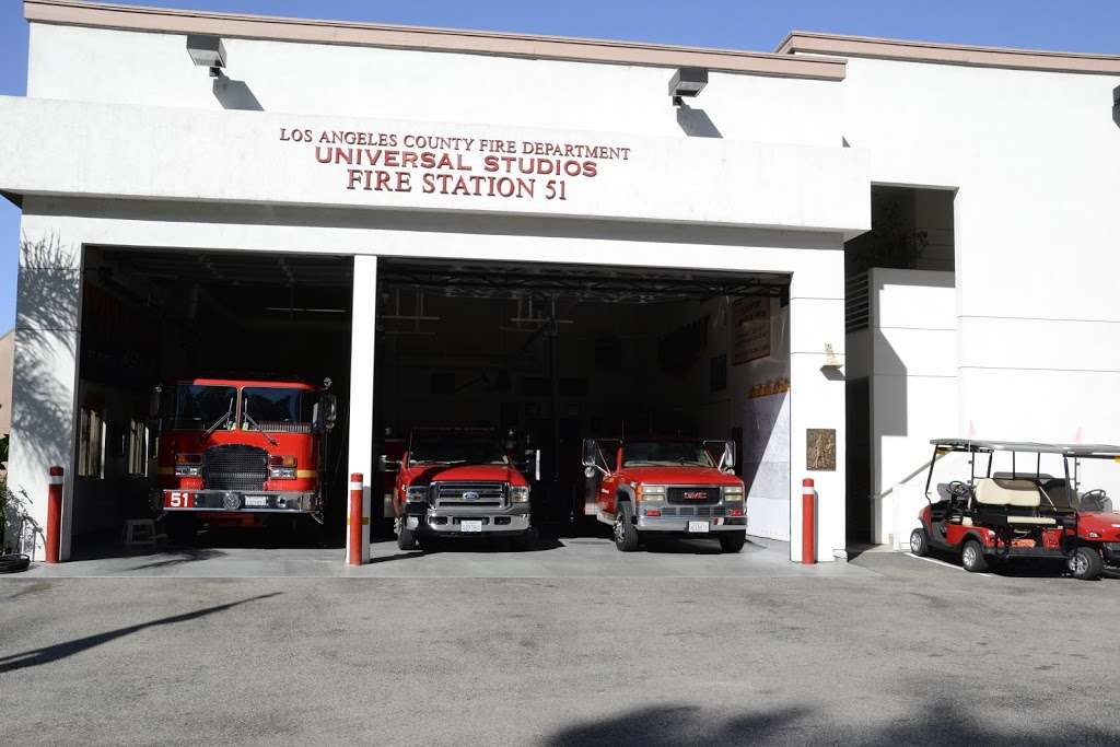 Los Angeles County Fire Dept. Station 51 - fire station  | Photo 7 of 8 | Address: 3900 Lankershim Blvd, North Hollywood, CA 91602, USA | Phone: (323) 877-4412