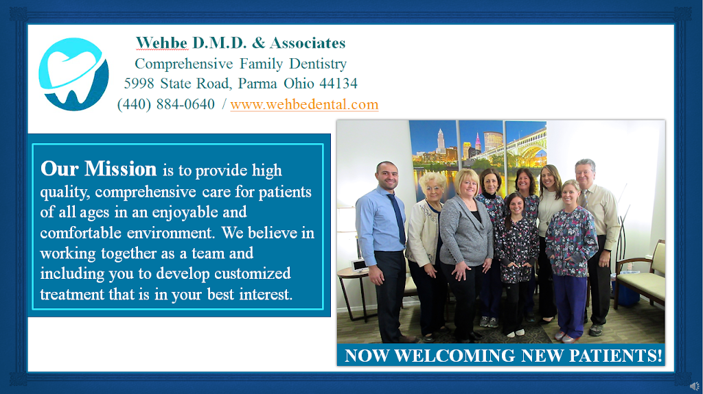 Wehbe DMD & Associates - dentist  | Photo 4 of 5 | Address: 5998 State Rd, Parma, OH 44134, USA | Phone: (440) 884-0640