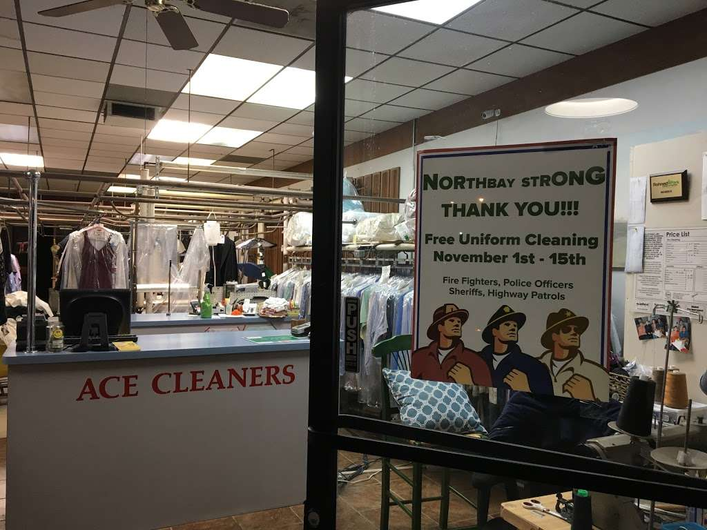 Ace Cleaners - laundry  | Photo 7 of 10 | Address: 6404 Commerce Blvd, Rohnert Park, CA 94928, USA | Phone: (707) 584-9060