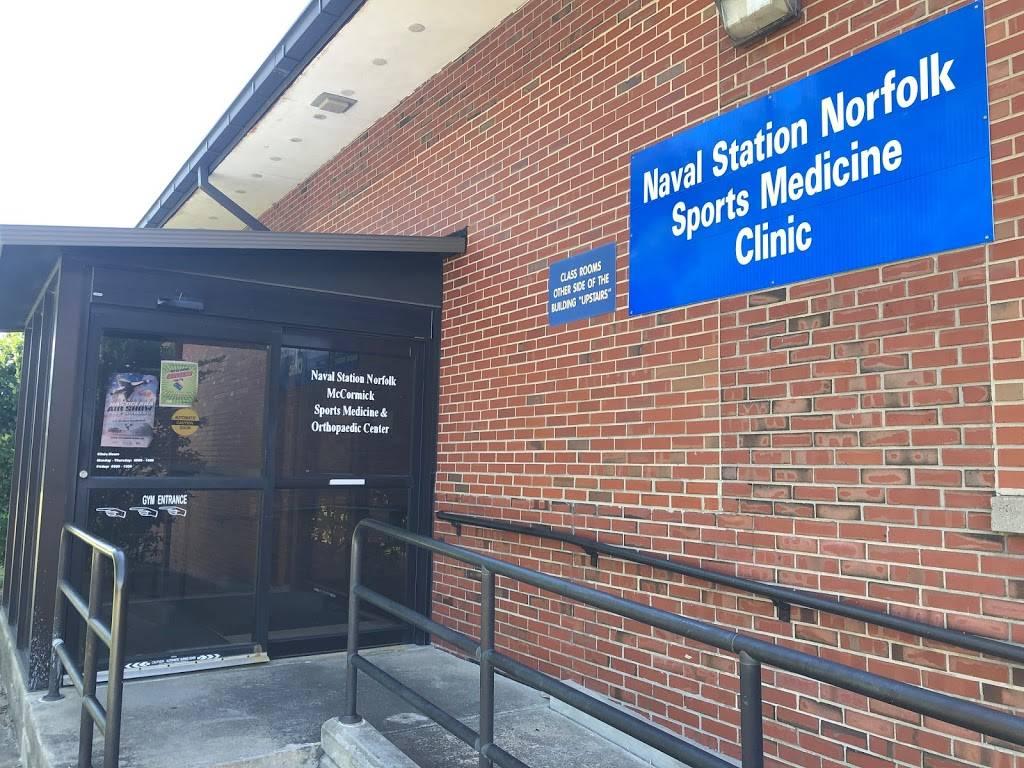 Sports Medicine Clinic - hospital  | Photo 4 of 4 | Address: Naval Station CEP 58, Norfolk, VA 23505, USA | Phone: (757) 445-1394