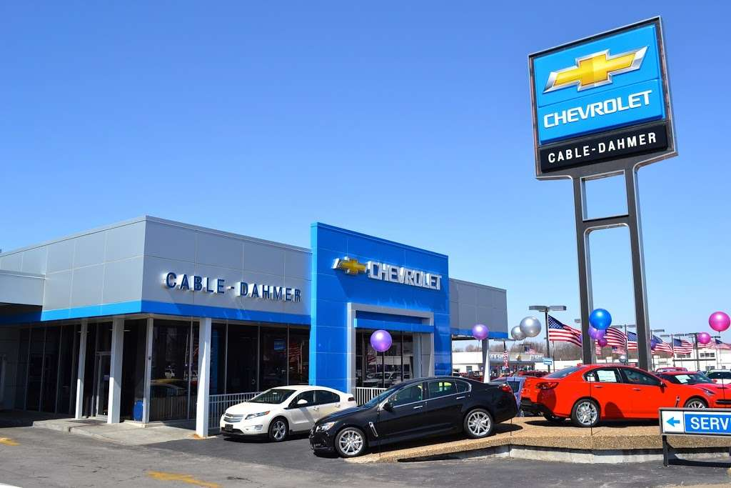 Cable Dahmer Chevrolet Of Independence 1834 S Noland Rd Independence Mo 64055 Usa