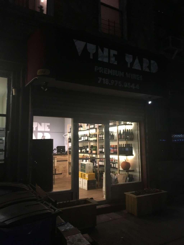 Vyne Yard Wine Shop - store  | Photo 2 of 2 | Address: 594 Rogers Ave, Brooklyn, NY 11225, USA | Phone: (718) 975-0344