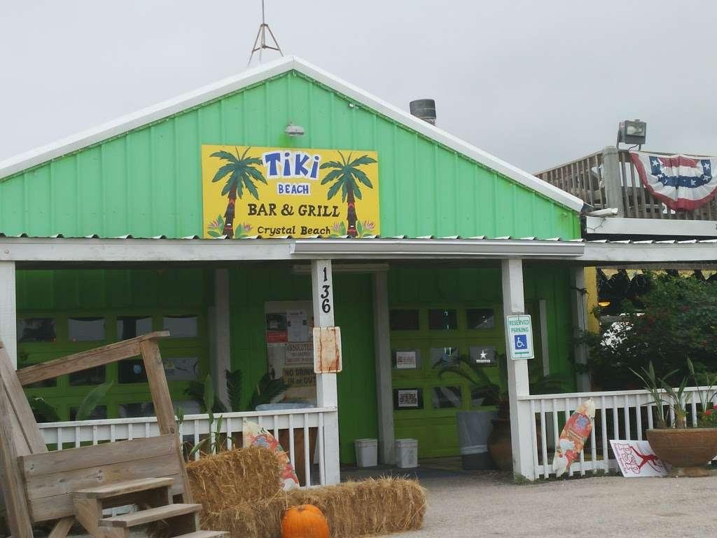 Tiki Beach Bar & Grill - restaurant  | Photo 3 of 10 | Address: 1369 State Hwy 87, Crystal Beach, TX 77650, USA | Phone: (409) 684-9594