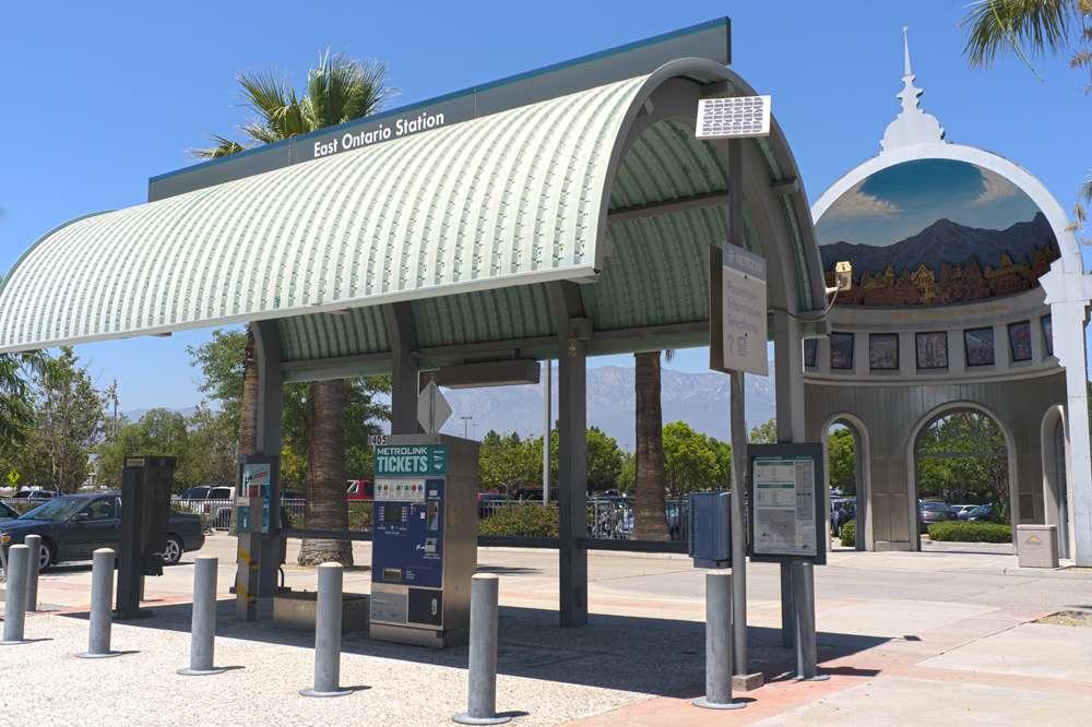 East Ontario Metrolink Station | train station | Ontario, CA 91761, USA