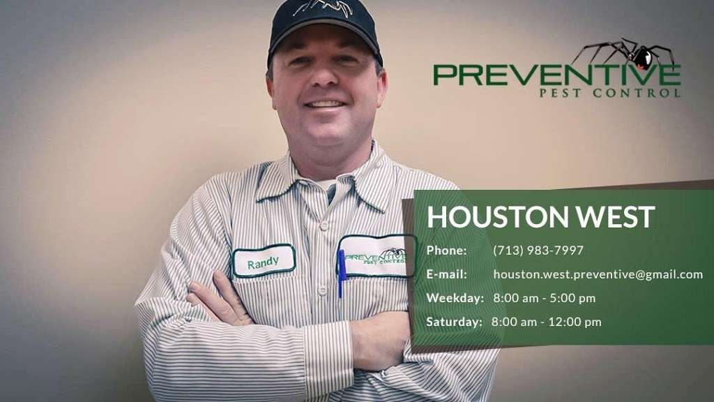 Preventive Pest Control - West Houston - home goods store  | Photo 2 of 3 | Address: 10050 W Gulf Bank Rd #214, Houston, TX 77040, USA | Phone: (713) 983-7997