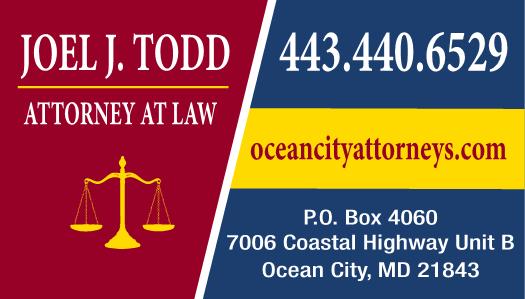 Todd & Correa, LLP - lawyer    Photo 2 of 4   Address: 7006 Coastal Hwy unit b, Ocean City, MD 21842, USA   Phone: (443) 440-6529