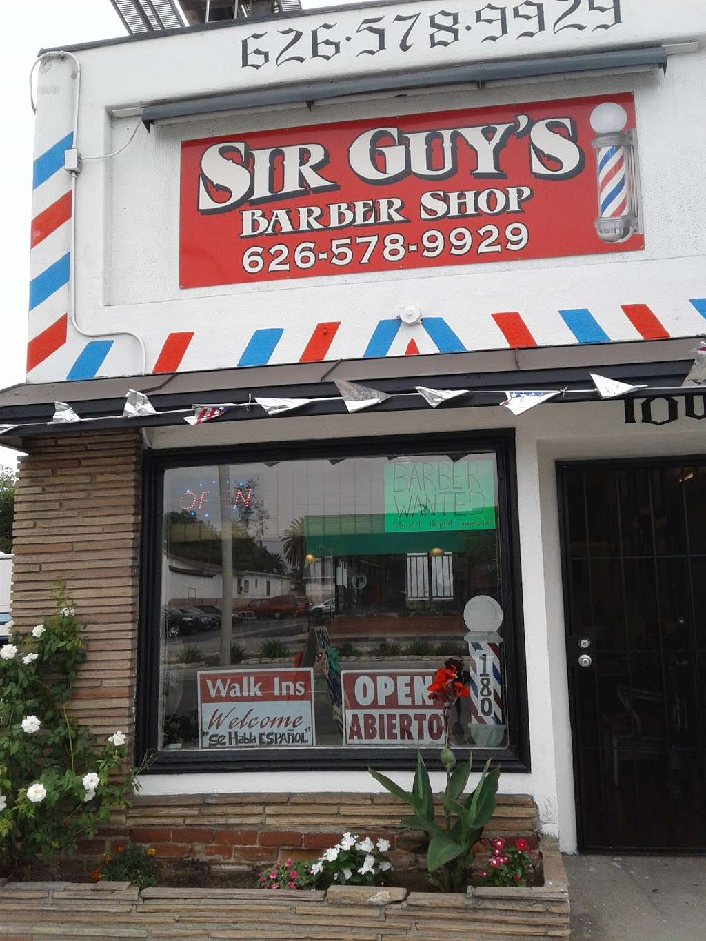 Sir Guys Barber Shop - hair care  | Photo 1 of 10 | Address: 180 S Rosemead Blvd, Pasadena, CA 91107, USA | Phone: (626) 578-9929