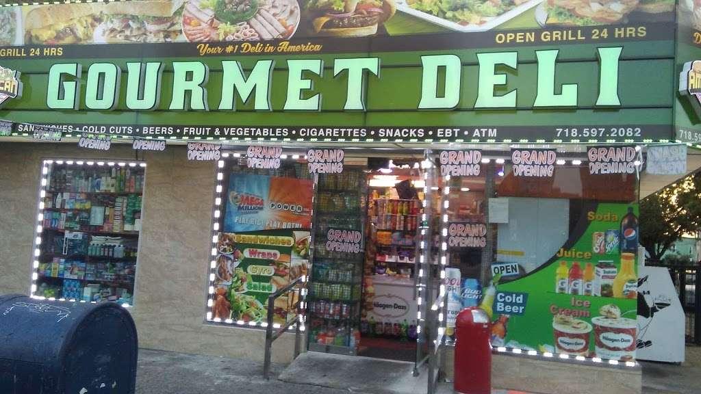 Gourmet Deli - store    Photo 2 of 3   Address: 1500 Castle Hill Ave, Bronx, NY 10462, USA