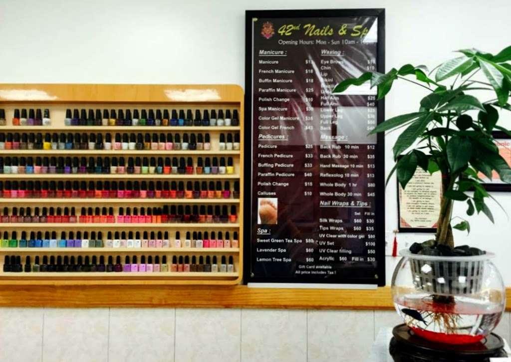 42 Nails & Spa - hair care  | Photo 9 of 10 | Address: 570 9th Ave, New York, NY 10036, USA | Phone: (212) 256-1065