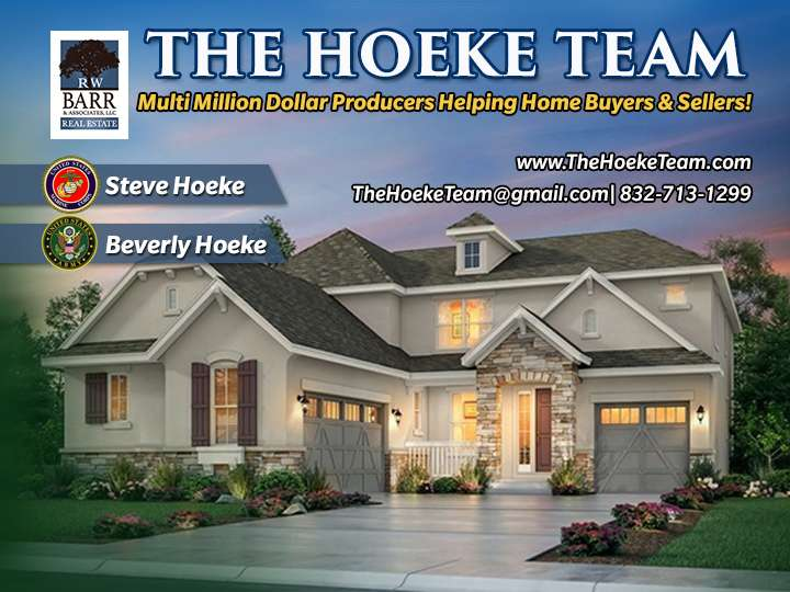 The Hoeke Team, REALTORS at Barr & Associates Real Estate, LLC - real estate agency  | Photo 10 of 10 | Address: 210D Genesis, Webster, TX 77598, USA | Phone: (832) 713-1299