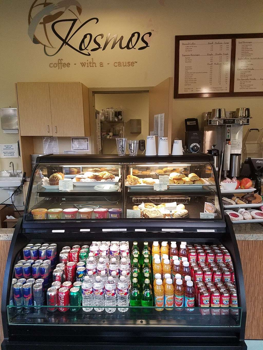 Kosmos Coffee Shop (Fellowship Church) - cafe  | Photo 4 of 10 | Address: 22765 Westheimer Pkwy, Katy, TX 77450, USA | Phone: (281) 395-4001