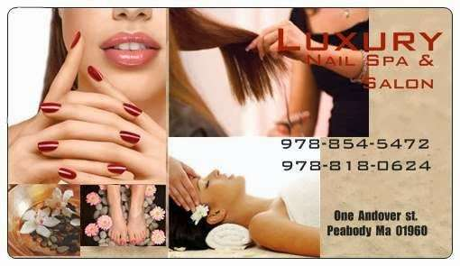 Luxury Nail Spa & Salon - hair care  | Photo 6 of 9 | Address: 1 Andover St, Peabody, MA 01960, USA | Phone: (978) 854-5472
