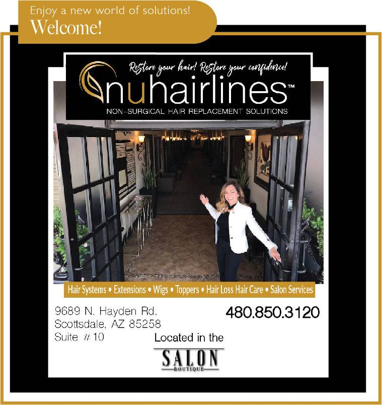 NUHAIRLINES - Non Surgical Hair Replacement Solutions - hair care  | Photo 5 of 10 | Address: 9689 N. Hayden Rd. Ste. 100 In the Salon Boutique Building Suite #10, Scottsdale, AZ 85258, USA | Phone: (480) 850-3120
