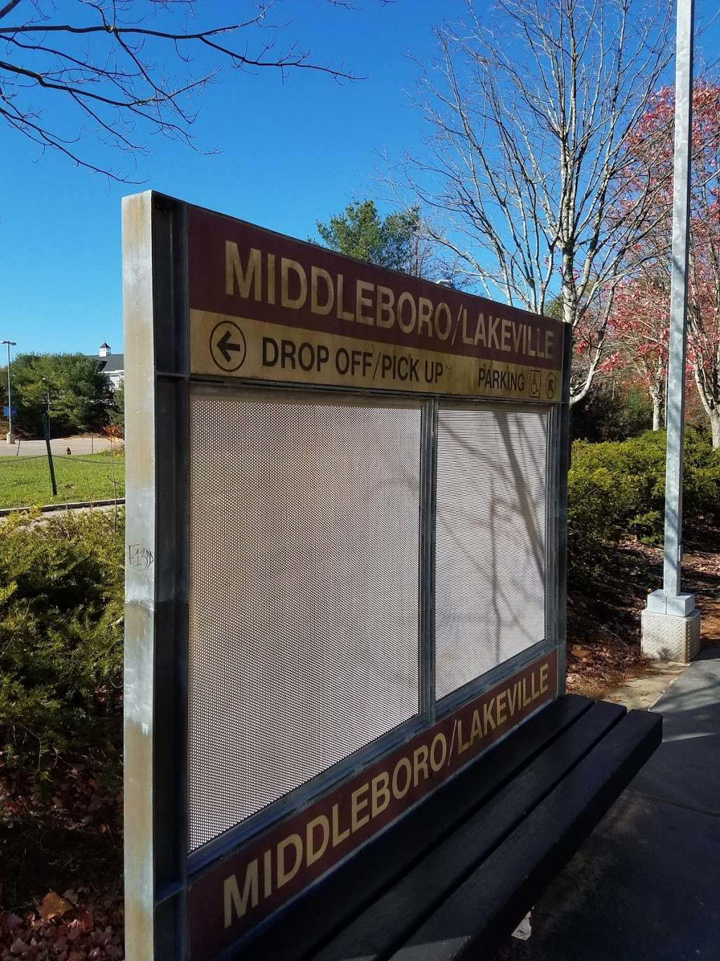 Middleboro/Lakeville - train station    Photo 4 of 4   Address: Commercial Dr, Lakeville, MA 02347, USA   Phone: (617) 222-3200