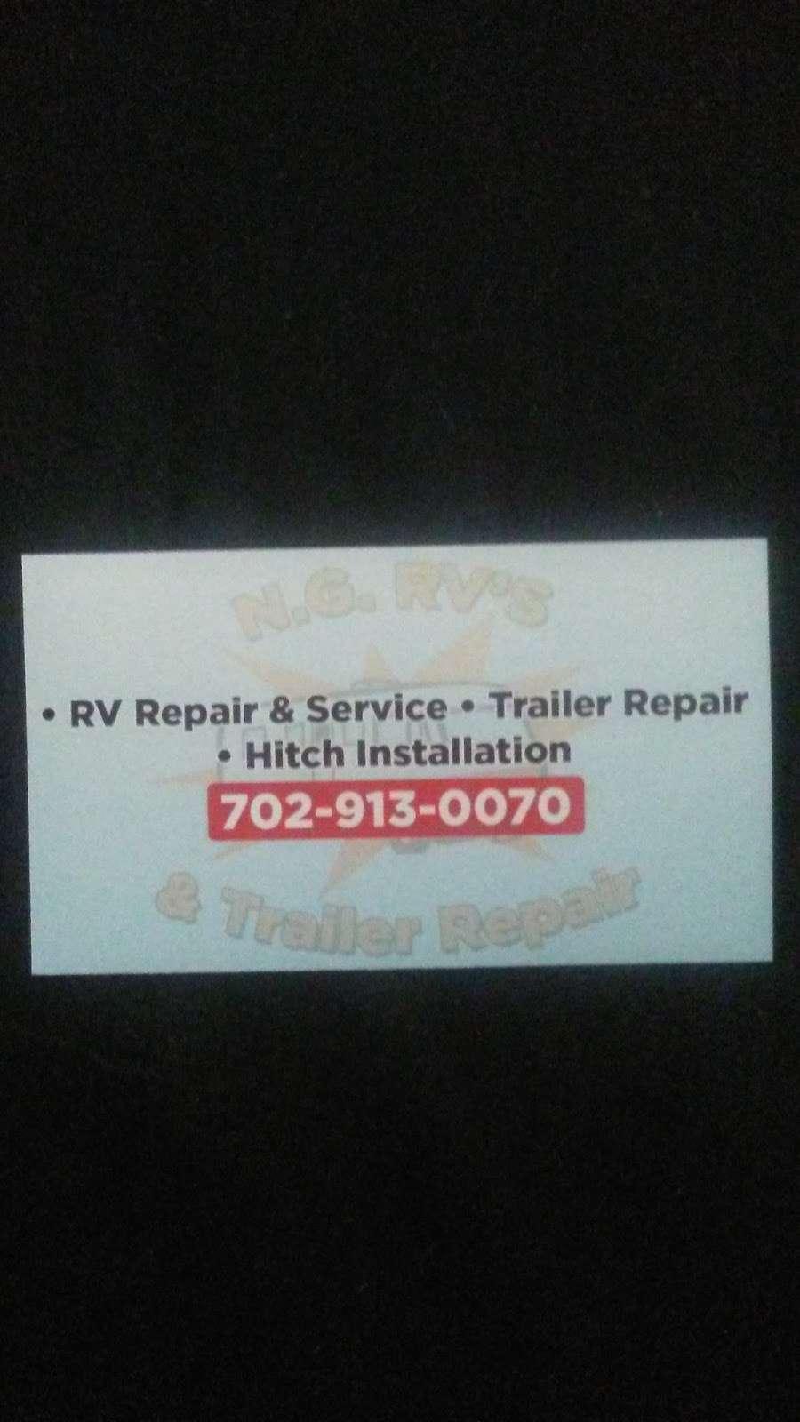 NG RV & Trailer Repair - car repair  | Photo 10 of 10 | Address: 3796 W Edward Ave, Las Vegas, NV 89108, USA | Phone: (702) 913-0070