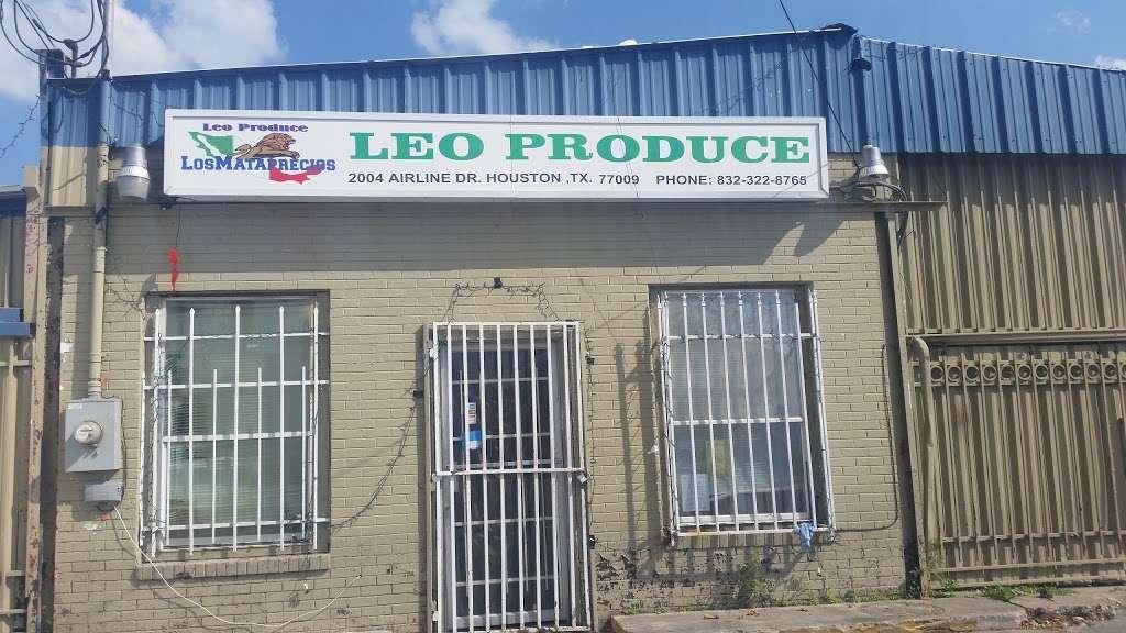 Leo Produce Los Mataprecios - store    Photo 2 of 7   Address: 2007 Airline Dr, Houston, TX 77009, USA   Phone: (713) 677-0408
