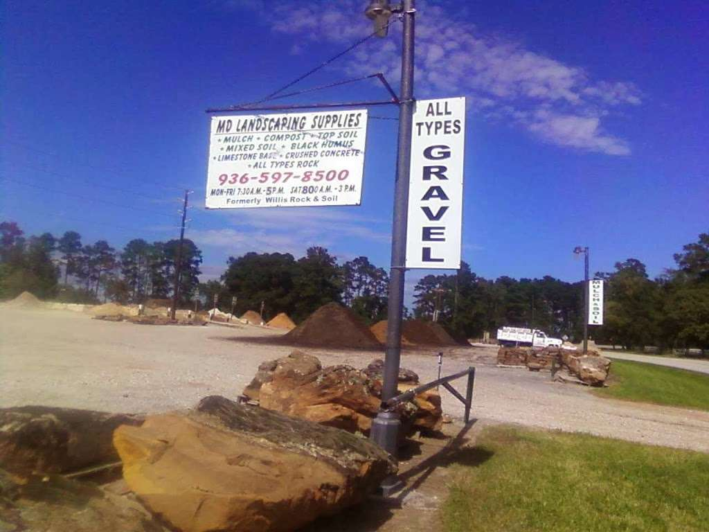 M D Landscaping Services Inc - store  | Photo 2 of 3 | Address: 19976 W, FM 1097, Montgomery, TX 77356, USA | Phone: (936) 597-8500