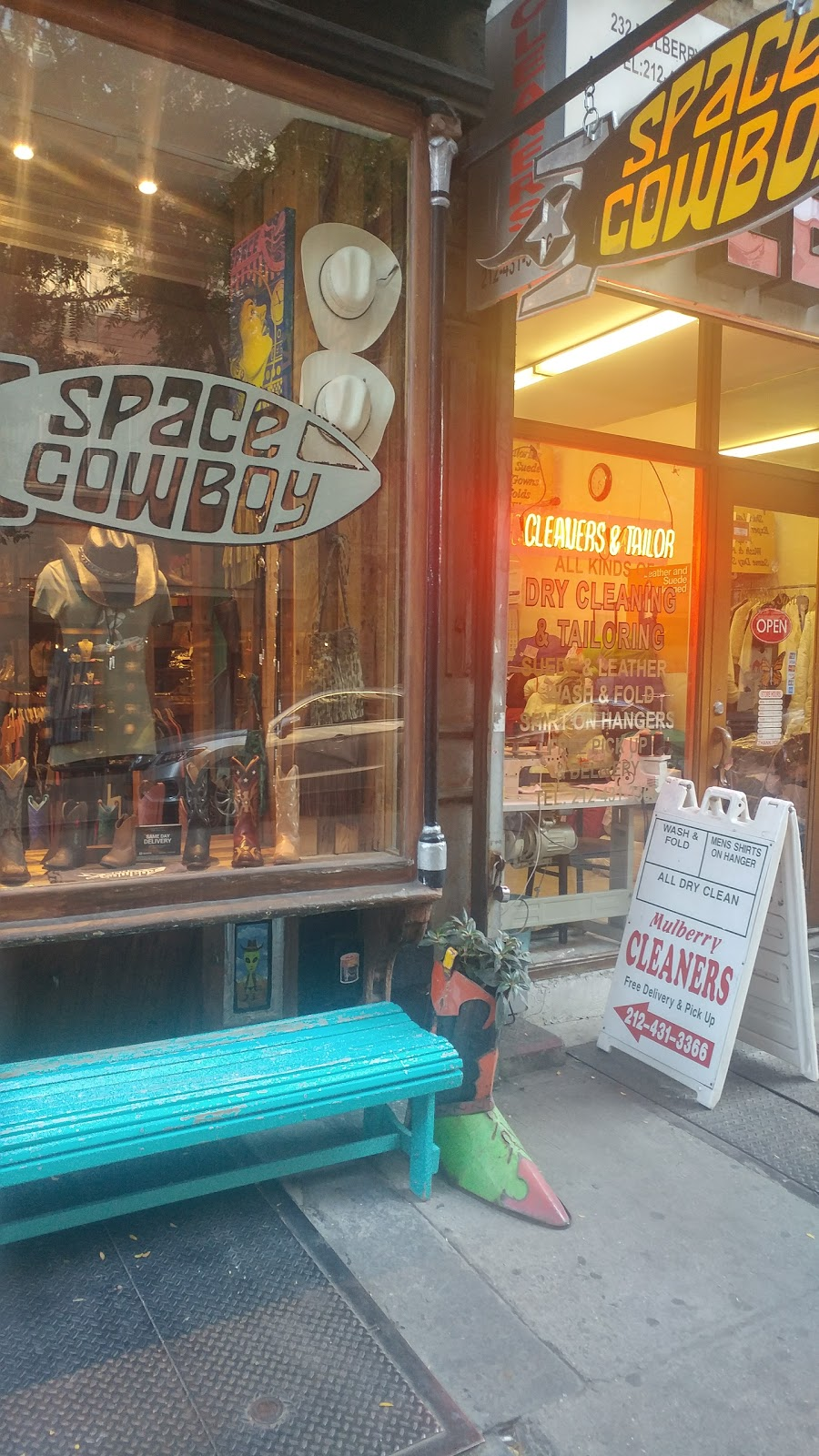 Space Cowboy Boots, NYC - shoe store  | Photo 9 of 10 | Address: 234 Mulberry St, New York, NY 10012, USA | Phone: (646) 559-4779
