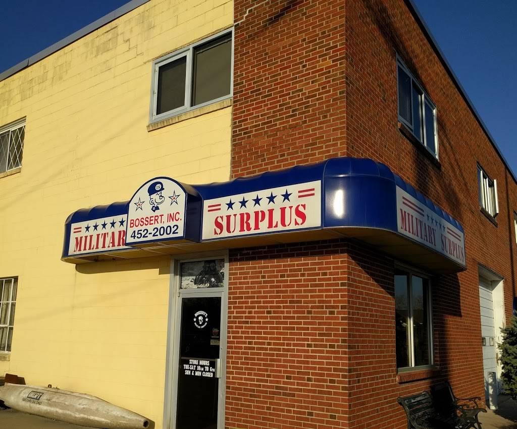 Bosserts Military Surplus - clothing store  | Photo 1 of 7 | Address: 434 NE 32nd St, Kansas City, MO 64116, USA | Phone: (816) 452-2002
