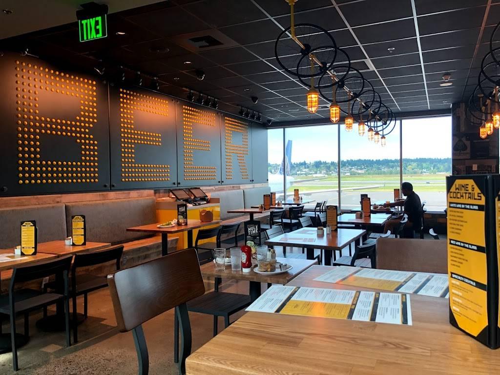 Hopworks Urban Brewery - restaurant  | Photo 2 of 8 | Address: PDX AIRPORT 7000 NE Airport Way, Concourse E, Portland, OR 97218, USA | Phone: (571) 982-0358