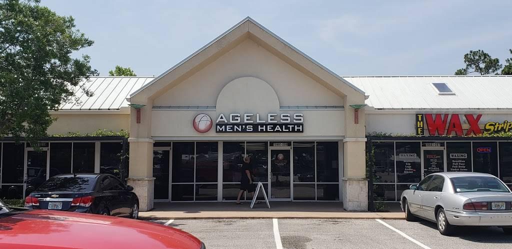 Ageless Mens Health - hospital    Photo 5 of 5   Address: 10601 San Jose Blvd #208, Jacksonville, FL 32257, USA   Phone: (904) 379-5052