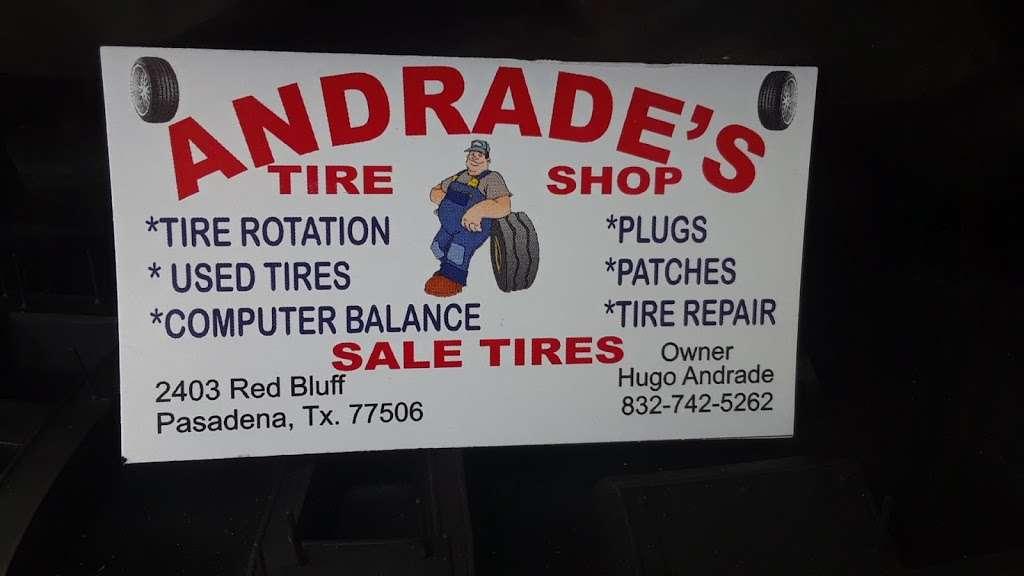 Andrades Tire Shop - car repair  | Photo 3 of 4 | Address: 2403 Red Bluff Rd, Pasadena, TX 77506, USA | Phone: (832) 742-5262