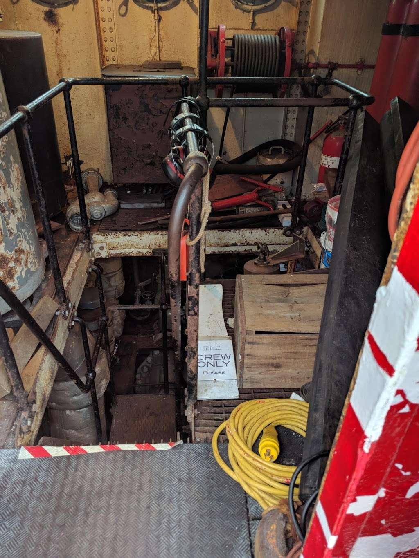 John J. Harvey Fireboat - store  | Photo 10 of 10 | Address: Hudson River Greenway, New York, NY 10005, USA